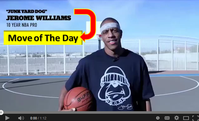 jerome jyd williams move of the day2
